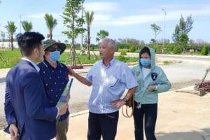 Nhà đầu tư ngoại tỉnh bắt đầu gom đất biển Quảng Ngãi giá rẻ