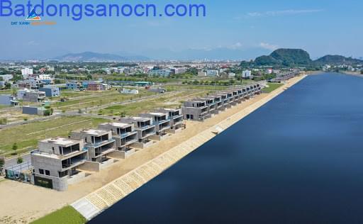 Hàng Hiếm Bán lô đất biệt thự view Sông cổ cò view và sân goft BRG Đà Nẵng