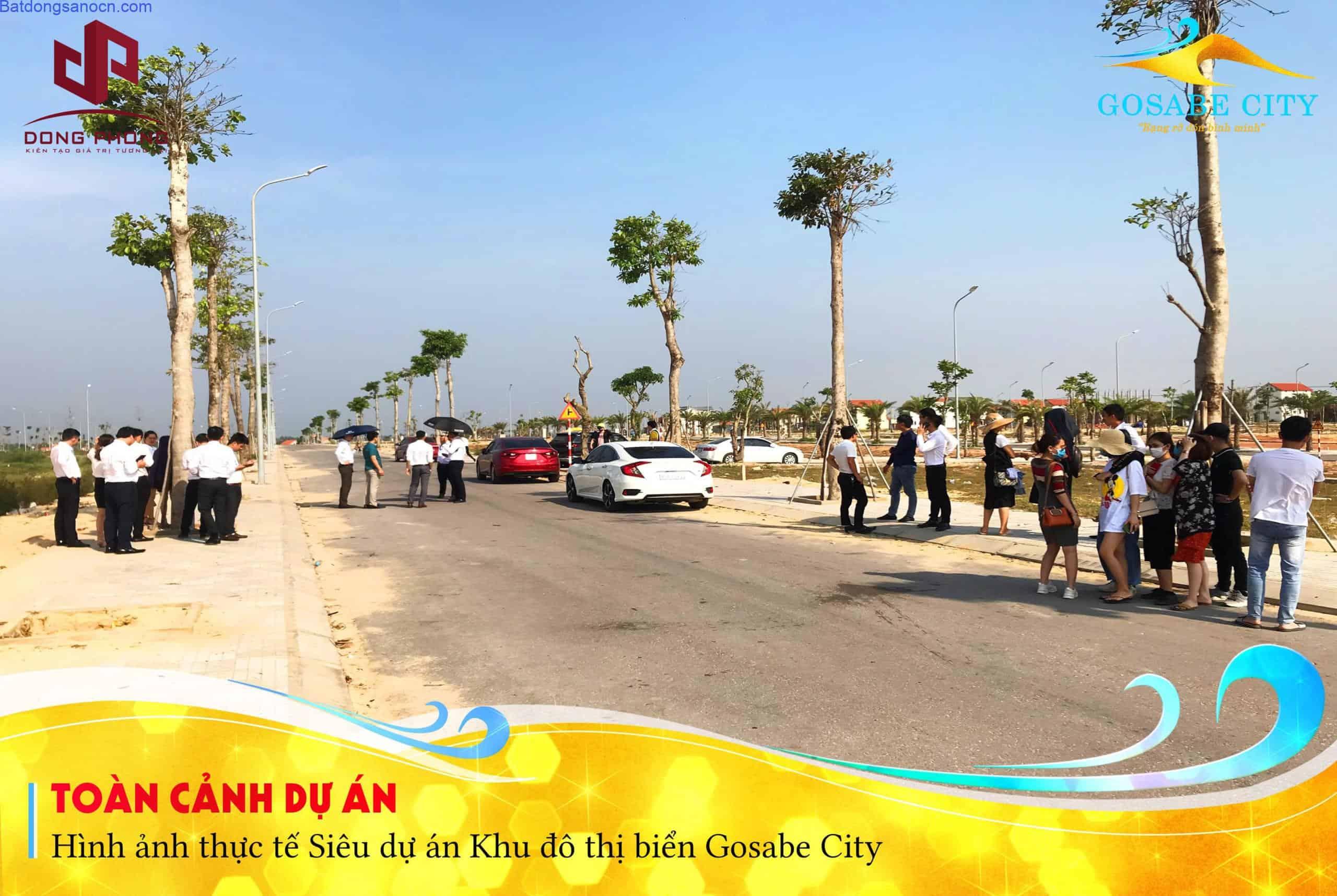 Dự án Gosabe city – Đất biển Quảng Bình
