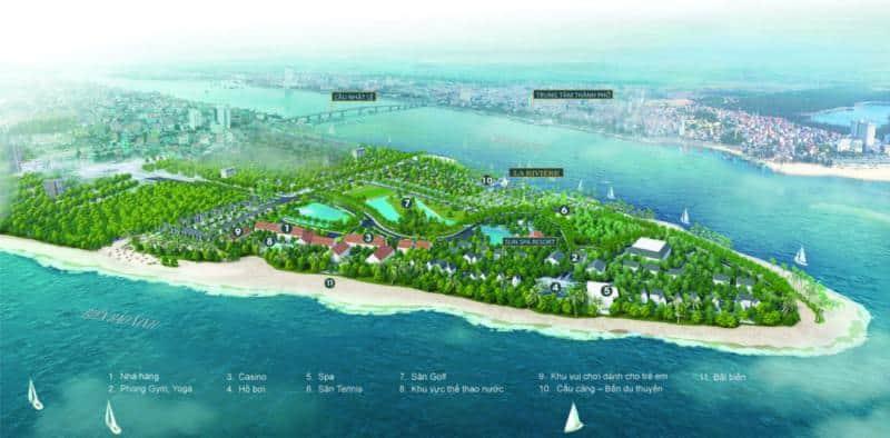 Dự án Biệt thự Biển Lariviere, Bảo Ninh Đồng Hới Quảng Bình