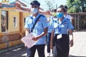 Quảng Bình xét nghiệm Covid 19 cho sinh viên Lào