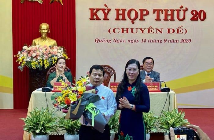 Quảng Ngãi có tân Chủ tịch Tỉnh Ông Đặng Văn Minh