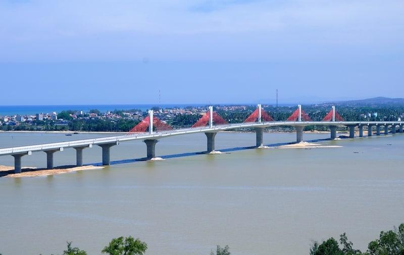 Thông xe cầu Cổ Lũy Quảng Ngãi – Giá bất động sản 2 bên cầu có tăng không