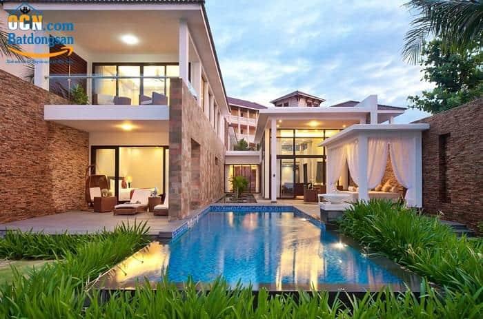 Bán căn biệt thự Vinpearl Đà Nẵng 1 đang cho thuê 320 tr/tháng
