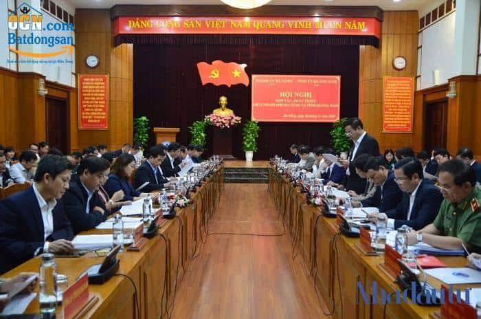 Đà Nẵng và Quảng Nam bắt tay đẩy nhanh tiến độ các dự án phía Nam