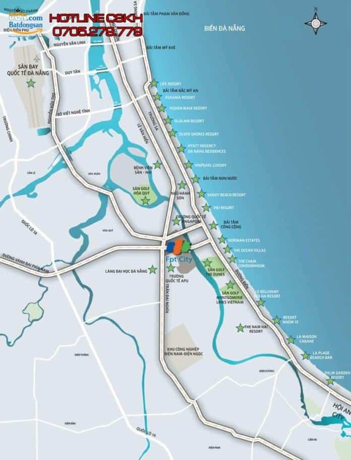 Bán đất FPT Đà Nẵng – Khu đô thị FPT City Đà Nẵng