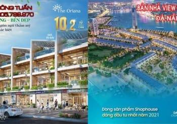 Nhà phố trung tâm Đà Nẵng hai mặt tiền, view sông Hàn, giá cực tốt cuối năm chỉ với 5 tỷ ( 50%)