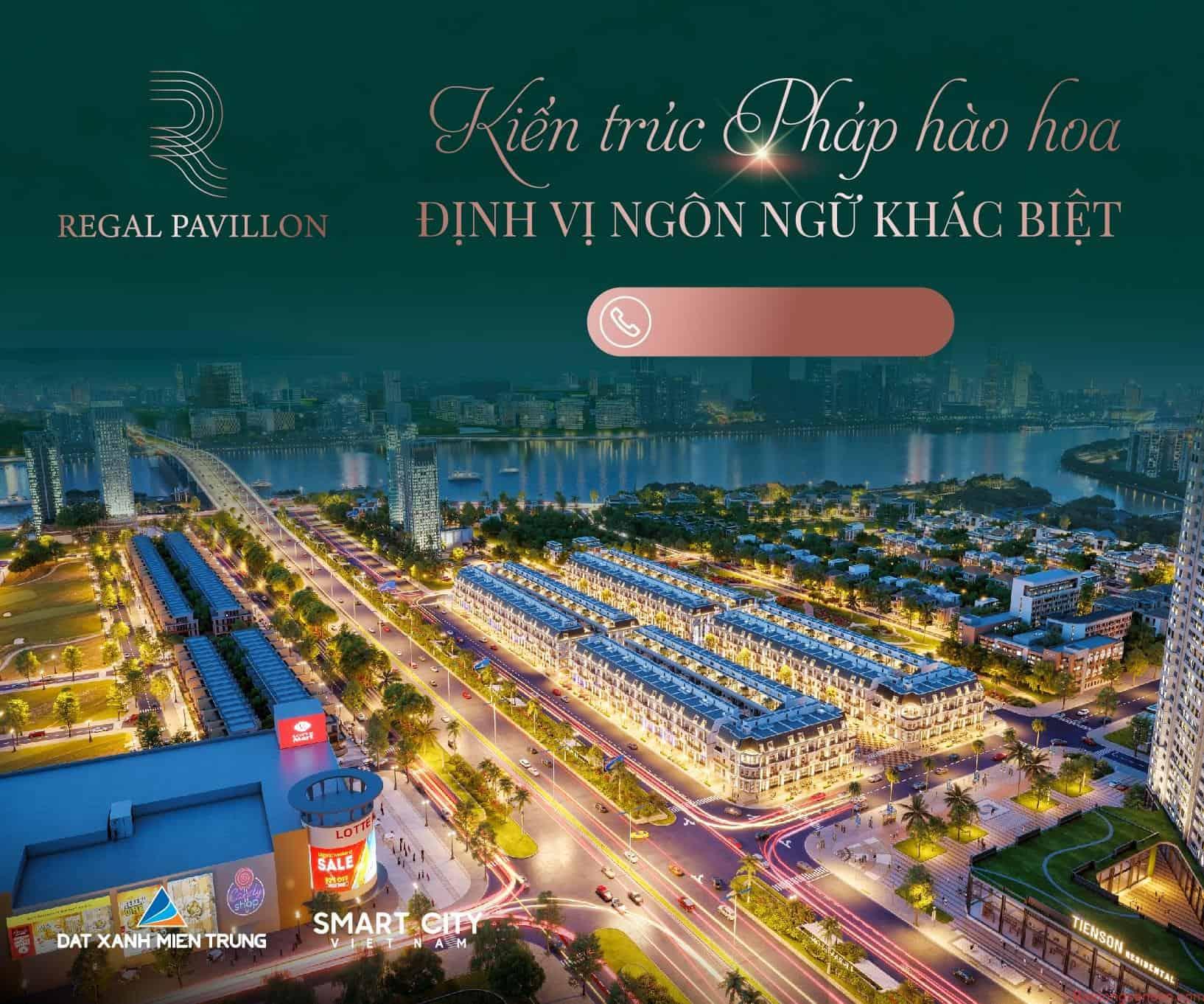 Phố đi bộ 5 sao Regal Pavillon – mảnh ghép còn thiếu của du lịch Đà Nẵng