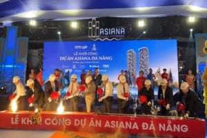 Khởi công tòa tháp đôi Asiana cao nhất Liên Chiểu Đà Nẵng