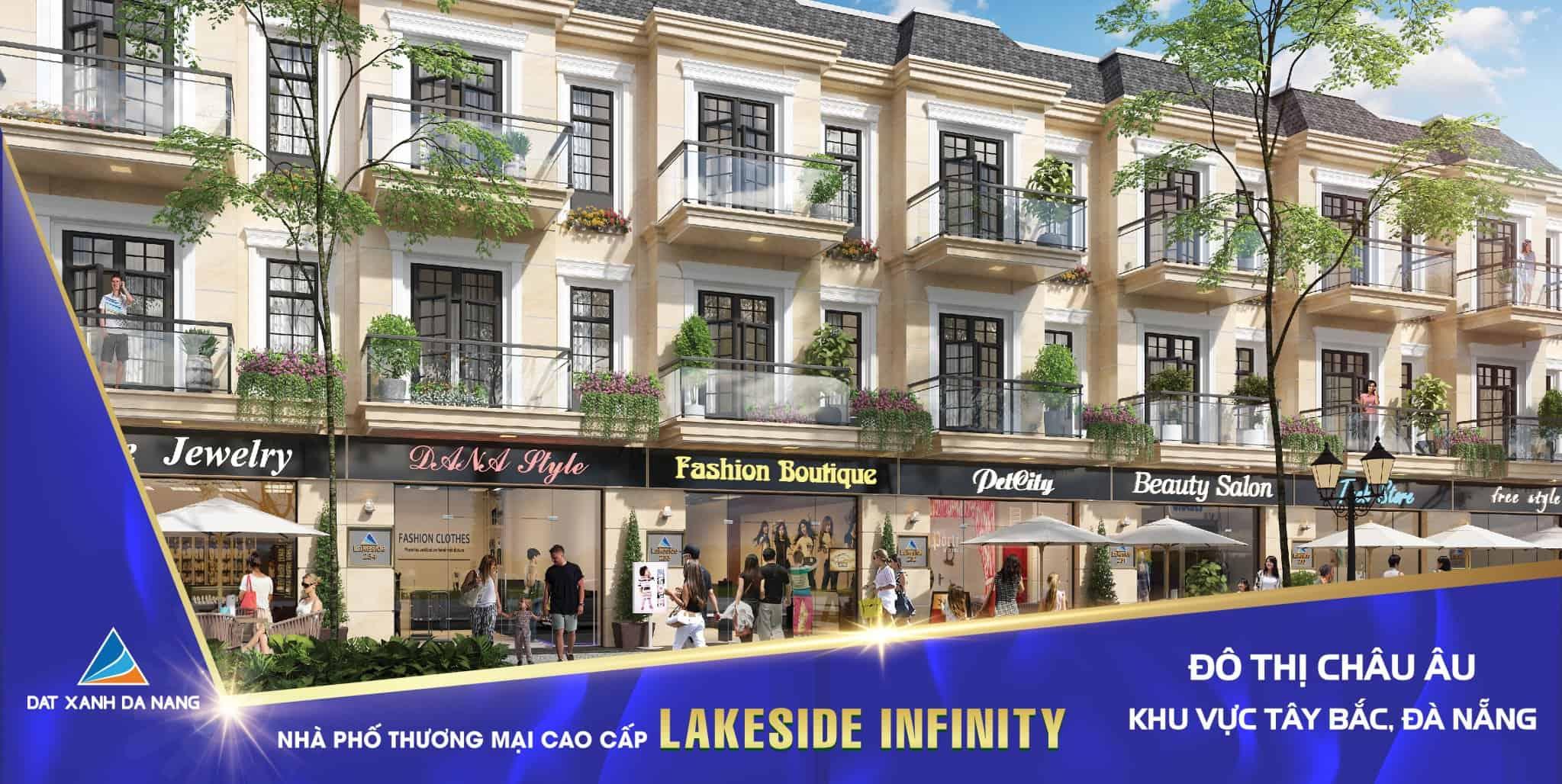 Chính chủ cần bán gấp shophouse Lake side đường Mê Linh GIÁ SỤP HẦM