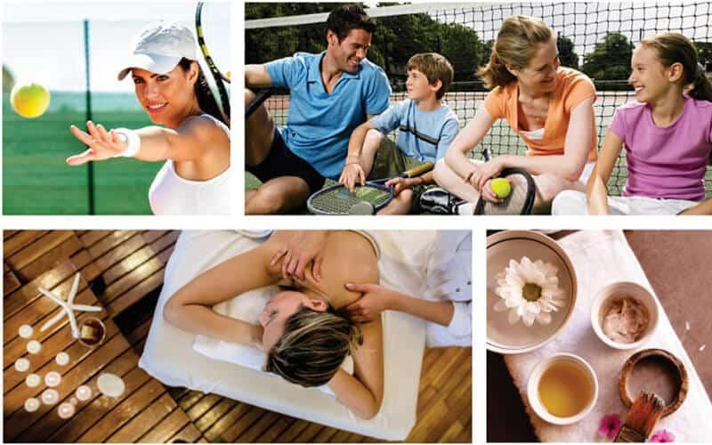 Tiện ích sân golf và khu massage dành riêng cho khách tại Đà Nẵng Golden Bay