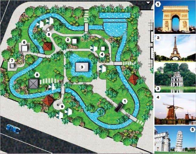 Khu vườn 10 kì quan thế giới tại Đà Nẵng Golden Bay