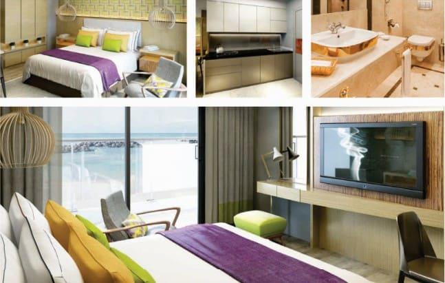 thiết kế căn hộ studio đà nẵng golden bay