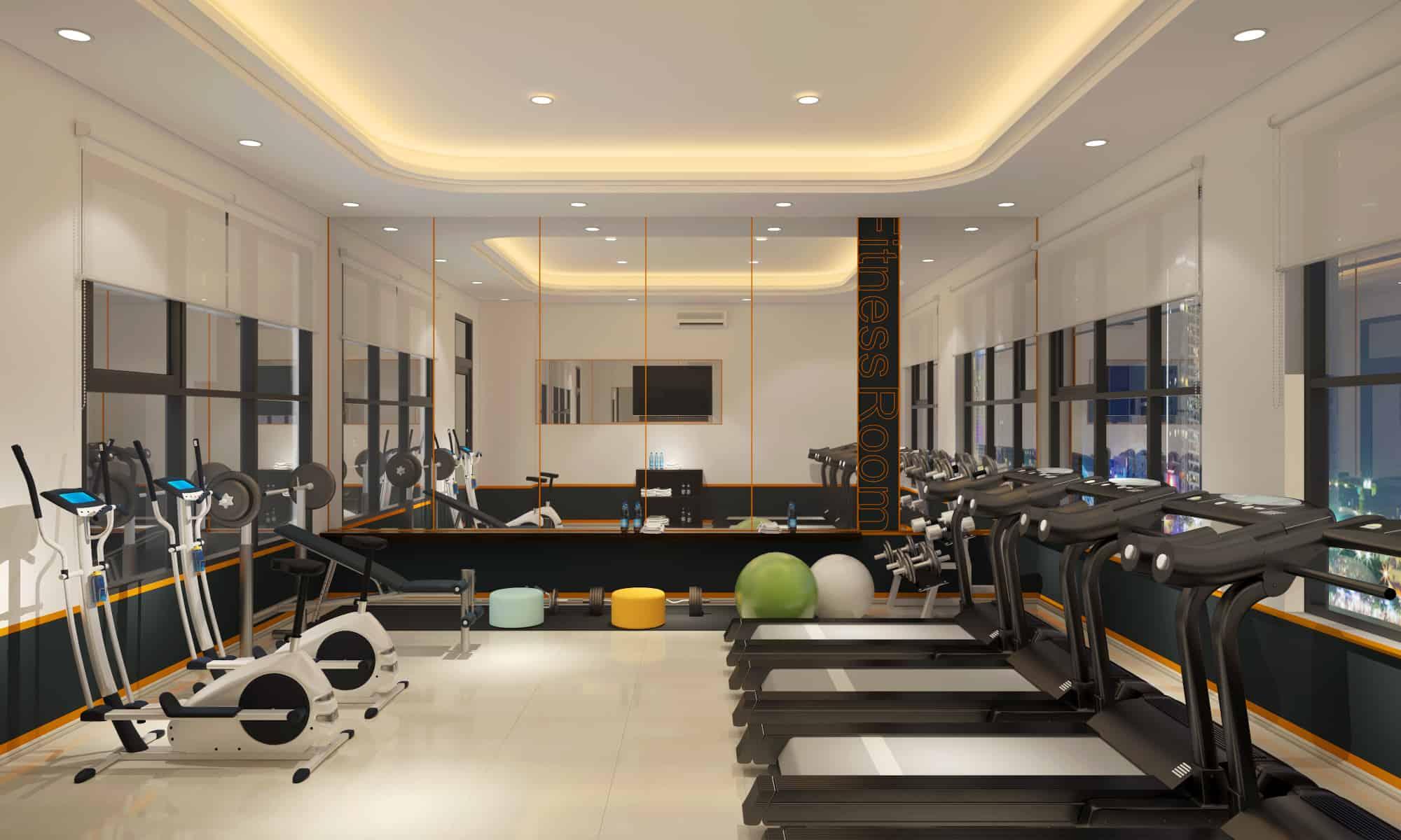 phòng tập gym hiyori