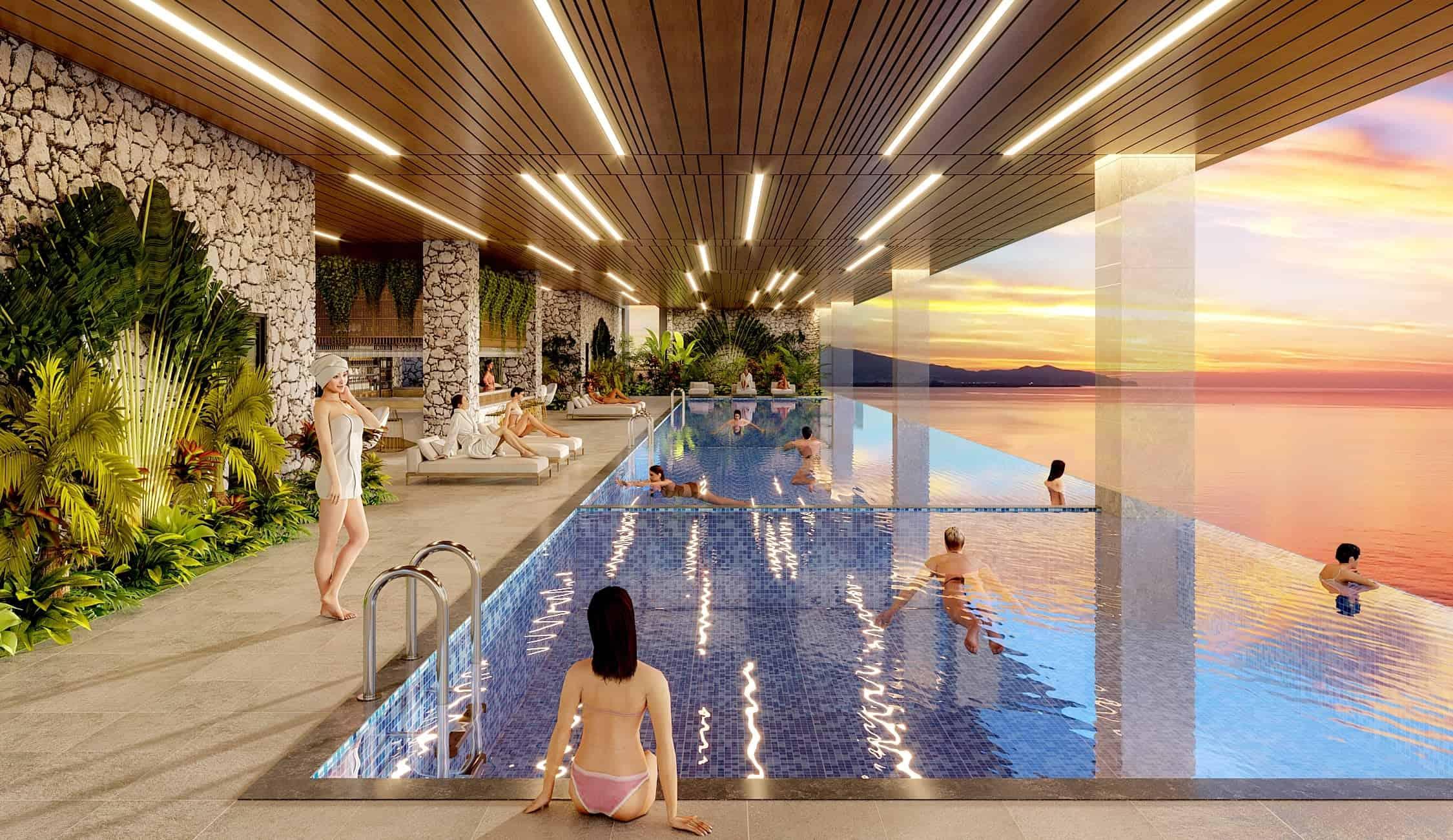 tiện ích hồ bơi the sang- mua căn hộ The Sang Đà Nẵng