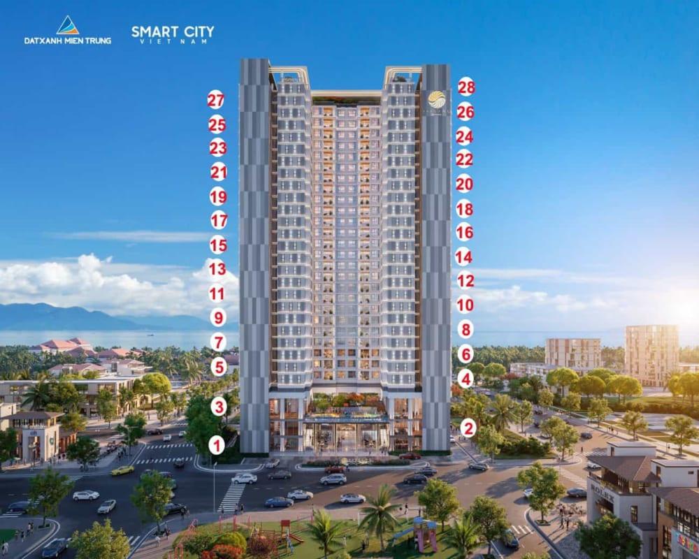 Bán căn hộ The SANG Residence đối diện Furama Resort Đà Nẵng