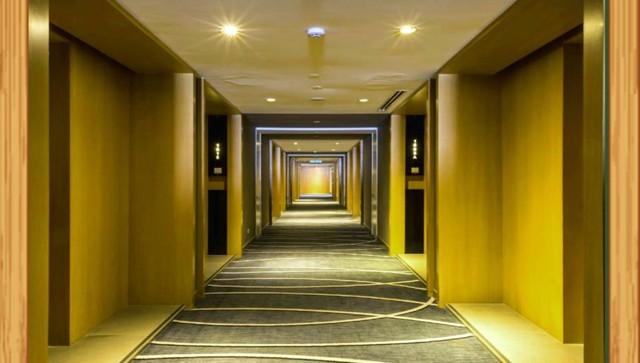 hành lang căn hộ hạng sang rộng 1,8 m
