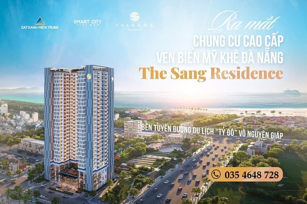 Bán căn hộ biển cao cấp The Sang Residence Đà Nẵng