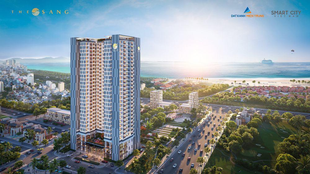 Bán căn hộ biển cao cấp The Sang Residence Đà Nẵng 2 PN