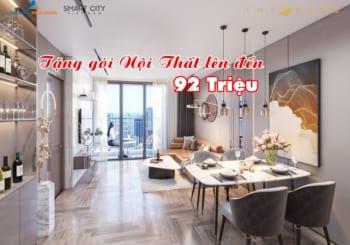 Cực Hot Tặng ngay gói nội thất trị giá 92 triệu khi mua căn hộ cao cấp The Sang Residence