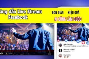 Hướng dẫn live stream facebook bằng video có sẵn